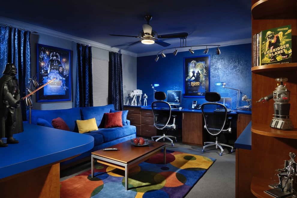 Media and Family Room