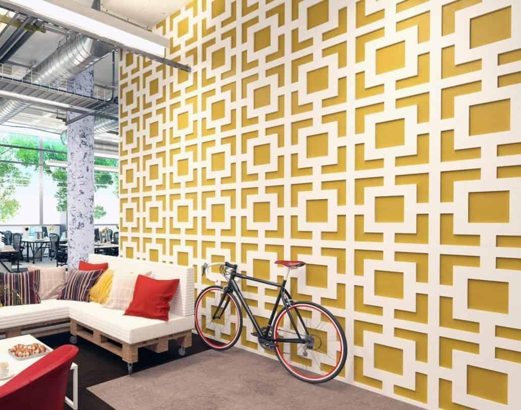 Mid Century Modern 3D Wall Panels