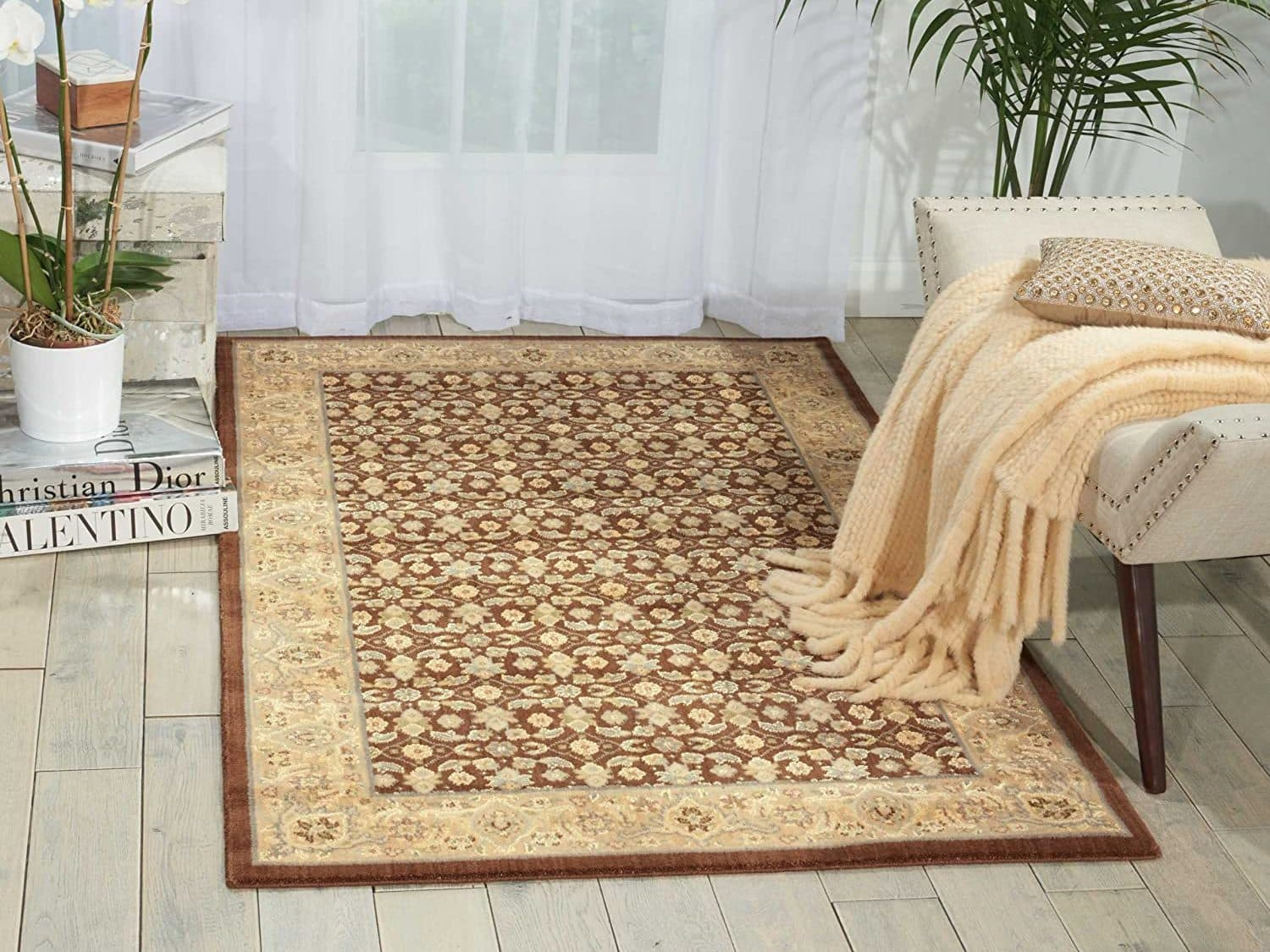 Nourison Persian Empire Chocolate Rectangle Area Rug