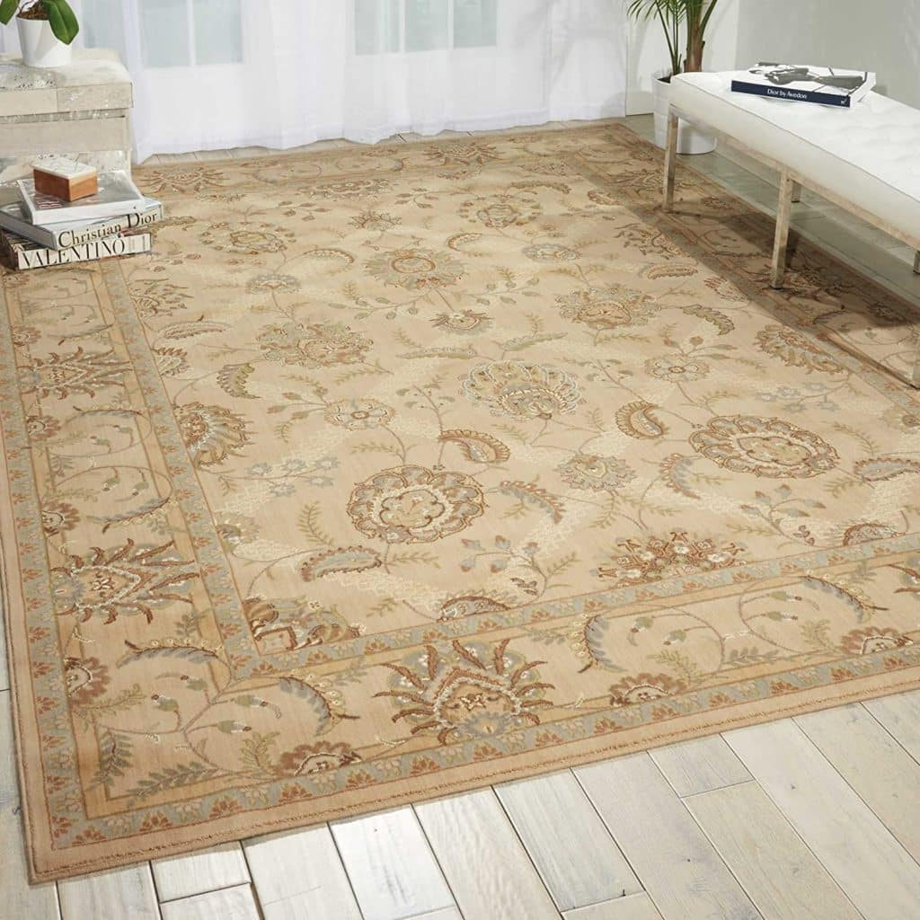 Nourison Persian Empire Ivory Rectangle Area Rug