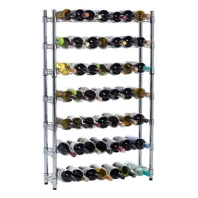 Oenophilia Epicurean Wine Rack Storage System, 7 Row - 91 Bottle