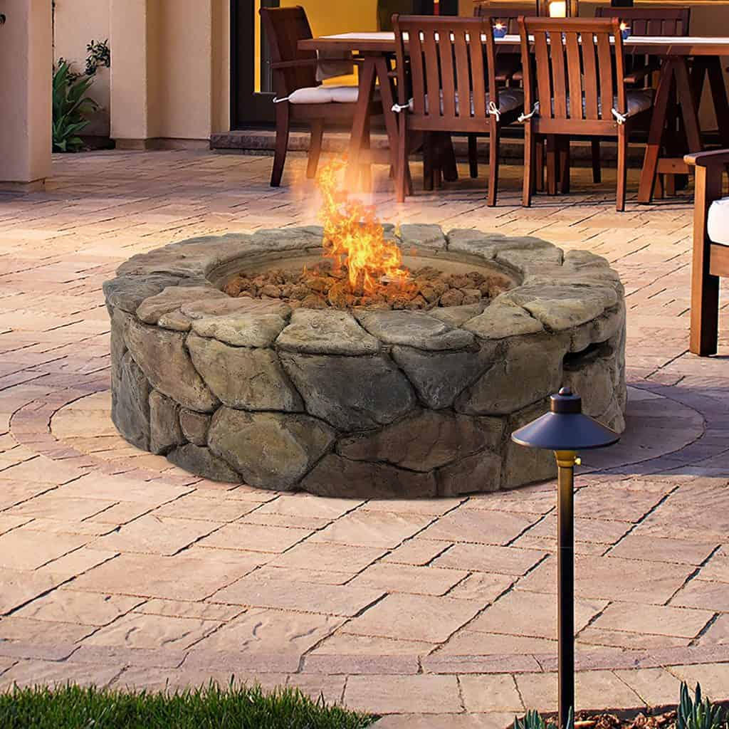 Outdoor Home Patio Gas Firepit