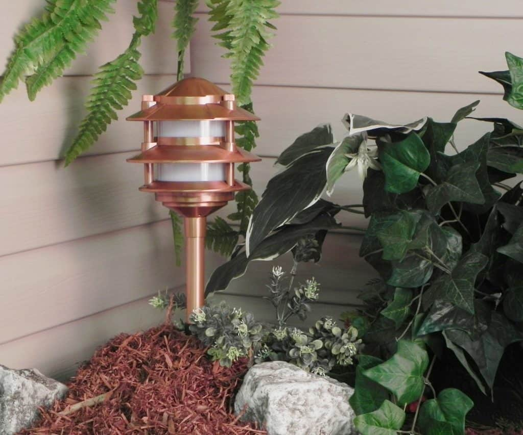 Paradise GL22764 Low Voltage Cast Aluminum 11W Path Light - landscape lighting ideas