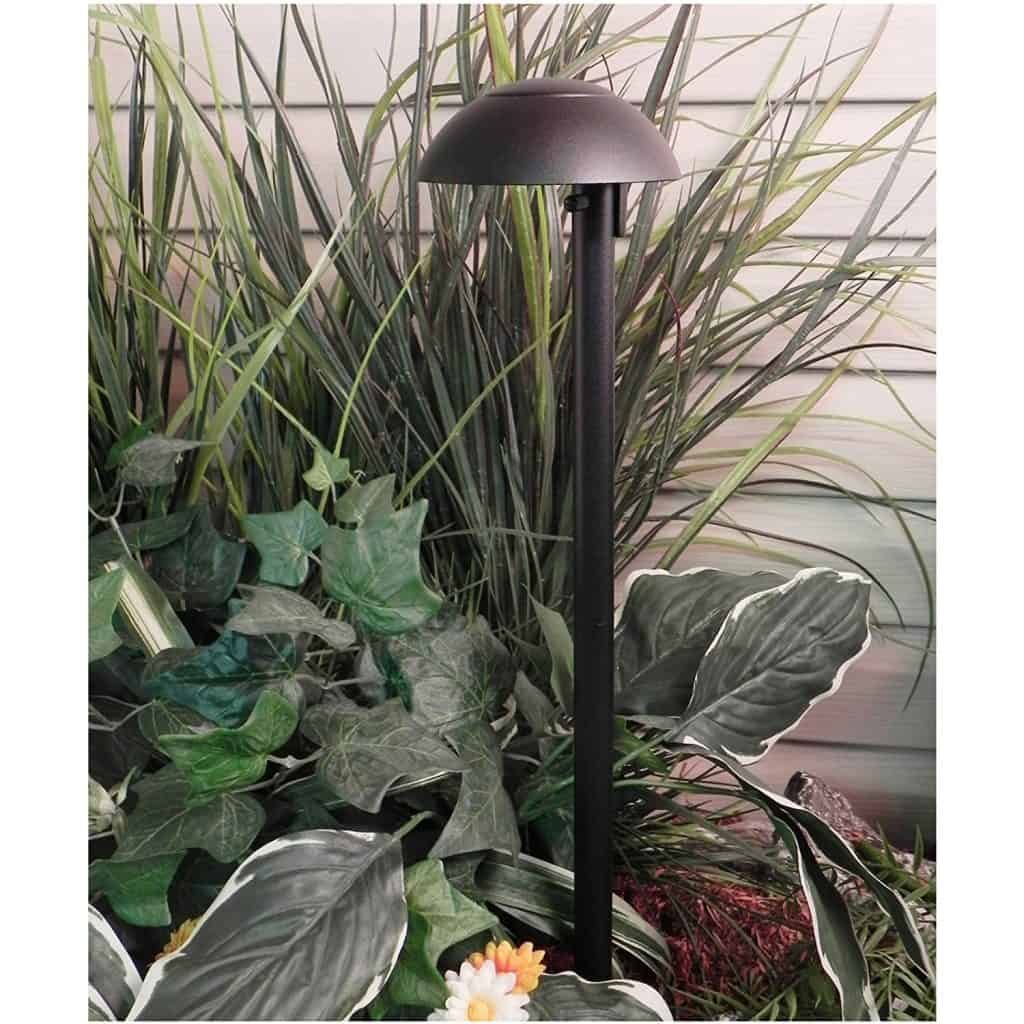 Paradise GL22811BK Low Voltage Cast Aluminum Bala 11W Down Light - landscape lighting ideas