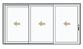 Pocket Sliding Patio Doors