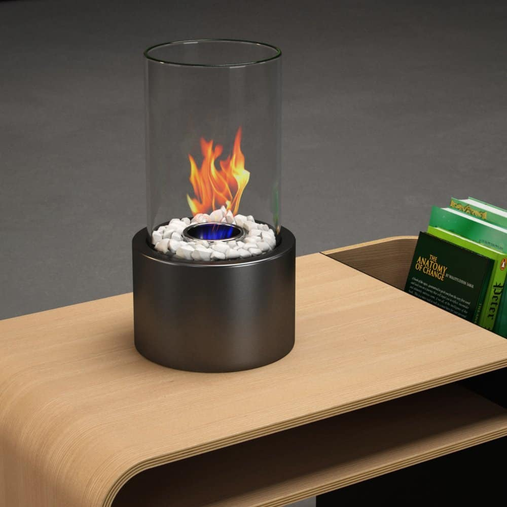 Regal Flame Eden Ventless Tabletop Portable Bio Ethanol Fireplace