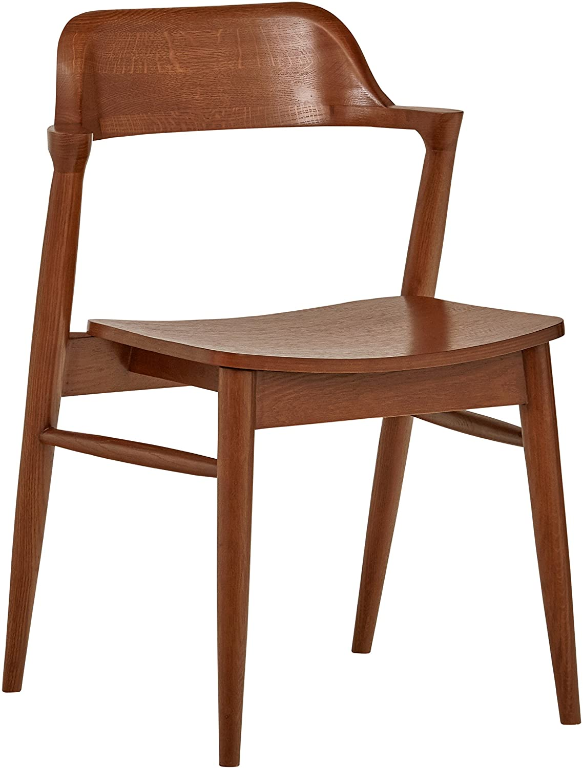 Rivet Mid-Century Modern Low-Back Dining Chair