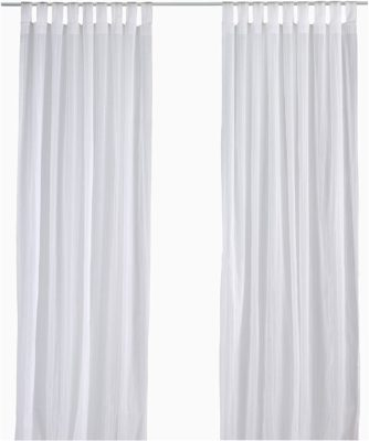 Sheer Curtains with Tabs