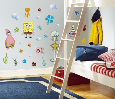 SpongeBob Squarepants Peel & Stick Wall Decals