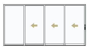 Stacking Patio Doors