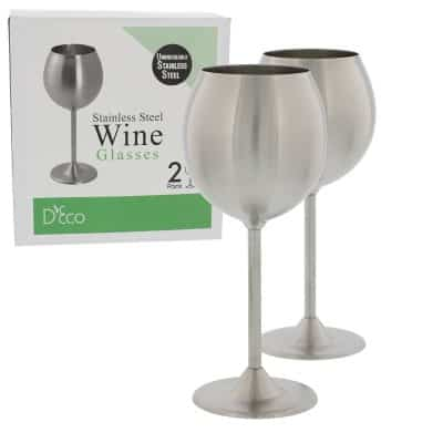 Stainless Steel Unbreakable Wine Glasses