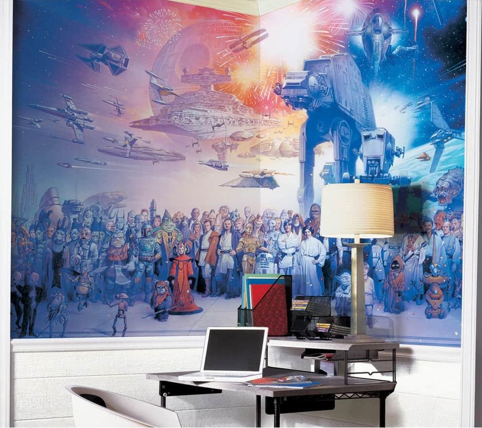 Star Wars Office Wall