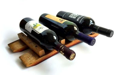 Tabletop Wine Rack - Wine Barrel Stave Wine Rack