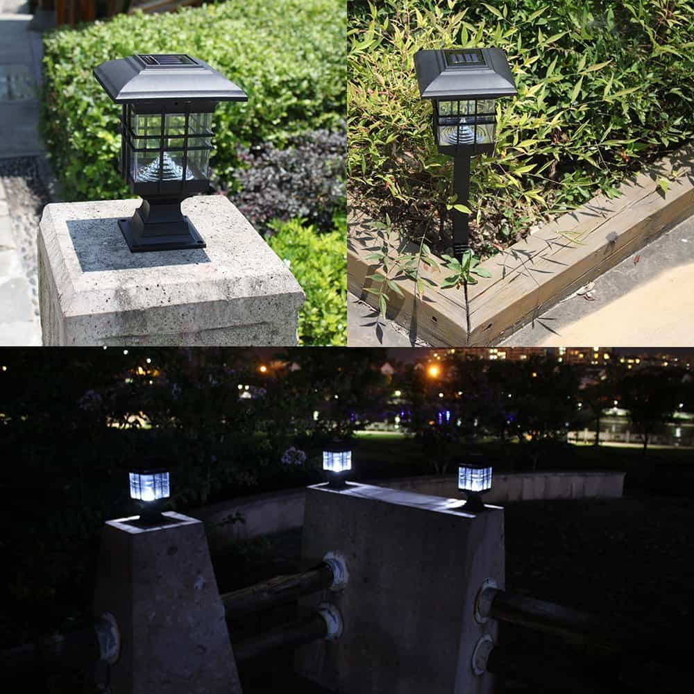 Tomshine Solar Path Lights - landscape lighting ideas