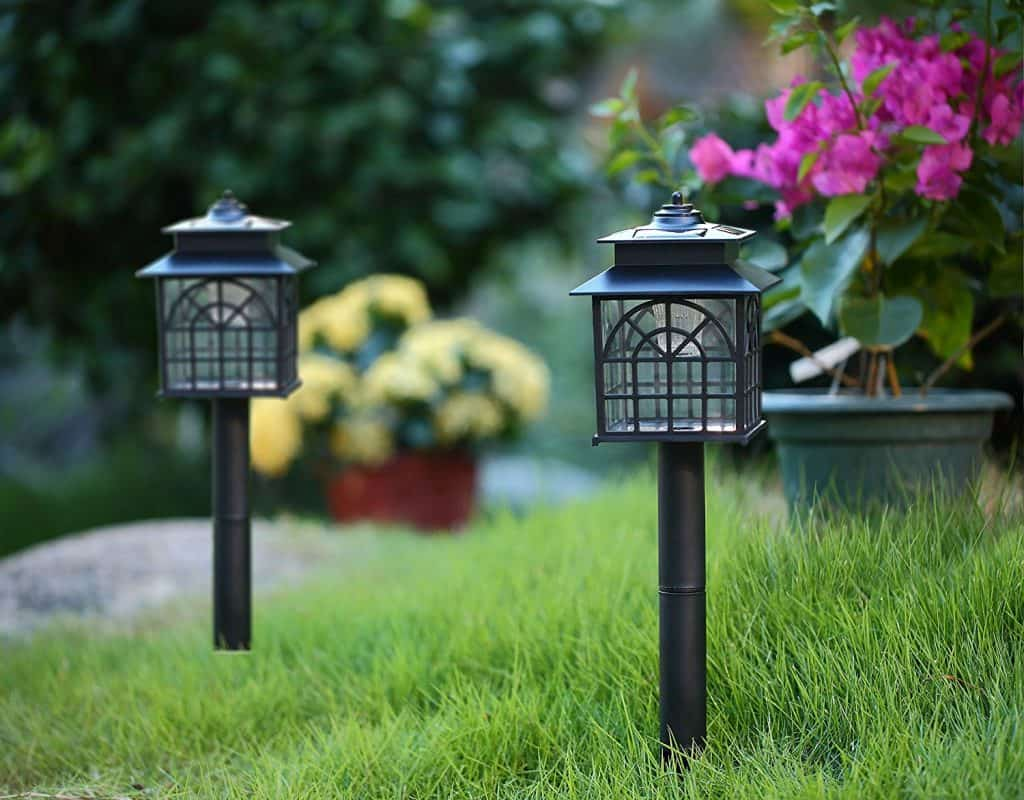 Twinkle Star LED Solar Pathway Lights - landscape lighting ideas