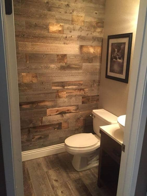 Barnwood Tile Shower Ideas