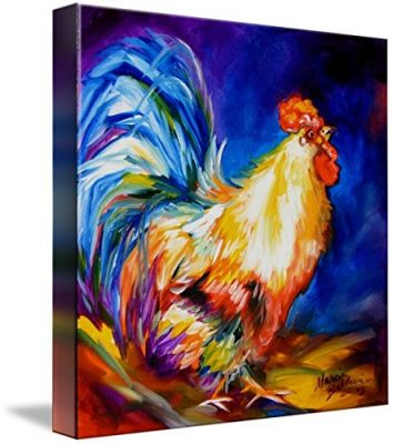 Wall Art Print entitled THE MR ROOSTER by Marcia Baldwin