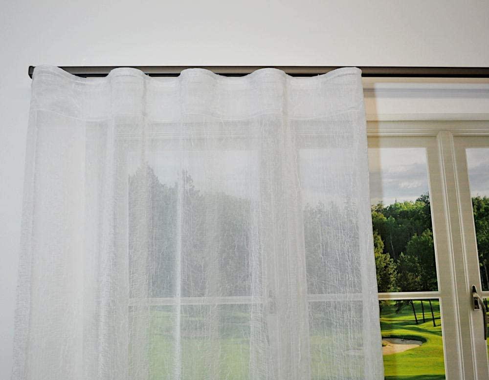 Wave Fold Curtain Tape and Hooks-10 Yards/100 Hooks