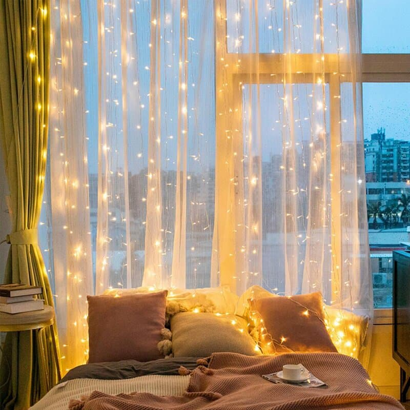 String Lighting 20+ Aesthetic Bedrooms