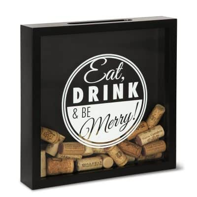 Wine All The Time Wooden PlaqueWine Cork Holder
