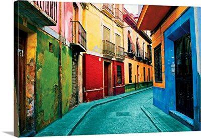 Ynon Mabat Premium Thick-Wrap Canvas Wall Art Print entitled Granada, Spain