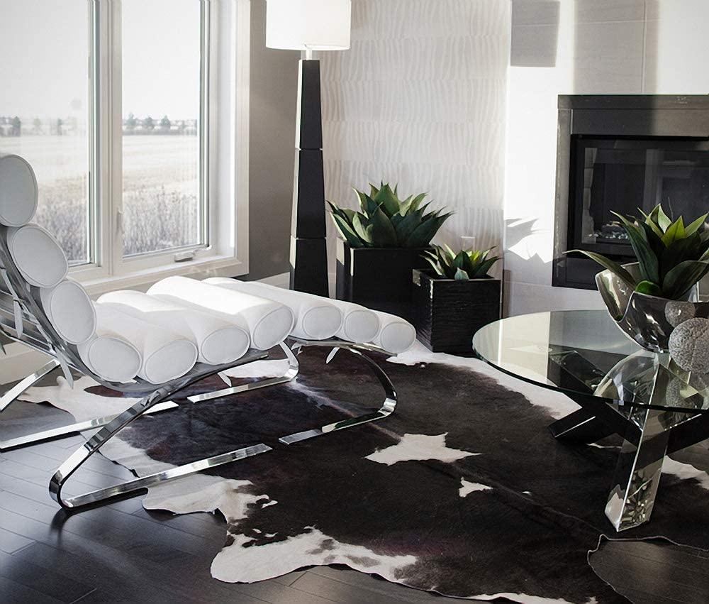 authentic cowhide rug