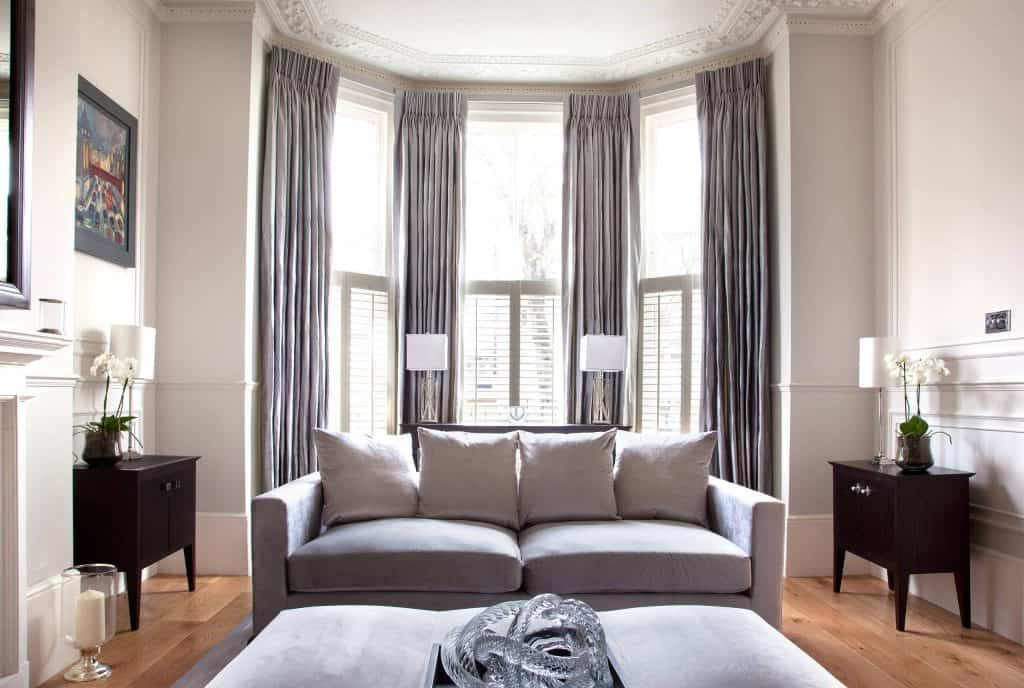 8 Perfect Ideas For Bay Window Curtains