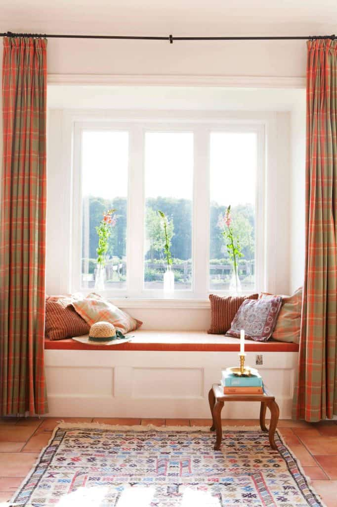 how to choose the best bay window curtains decor snob 85858