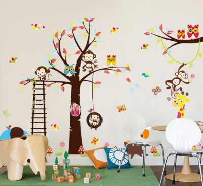 children's room decorative wall stickers