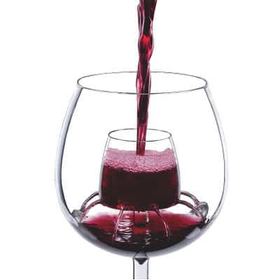cool wine glass