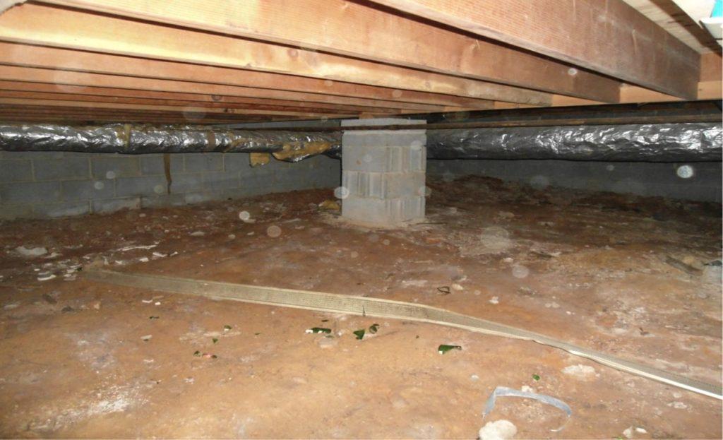 crawl basement