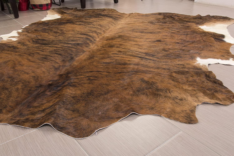 extra large cowhide rug