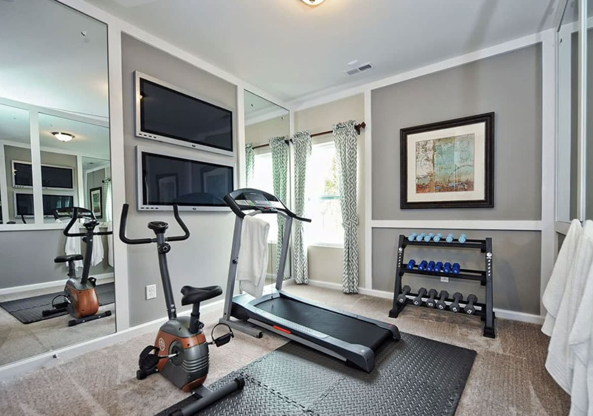 15 Small Space Home Gym Ideas Compact Workout Rooms