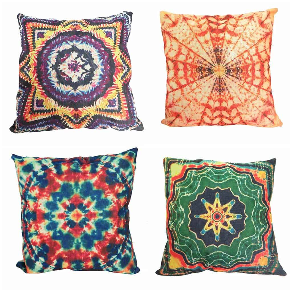 mandala cushion cover hippie bohemian