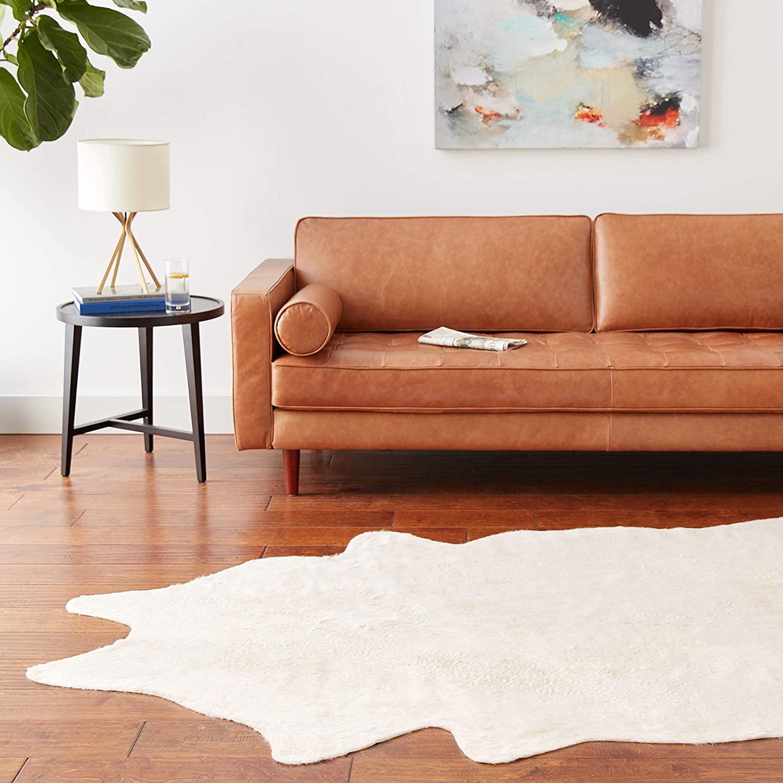 modern cowhide rug