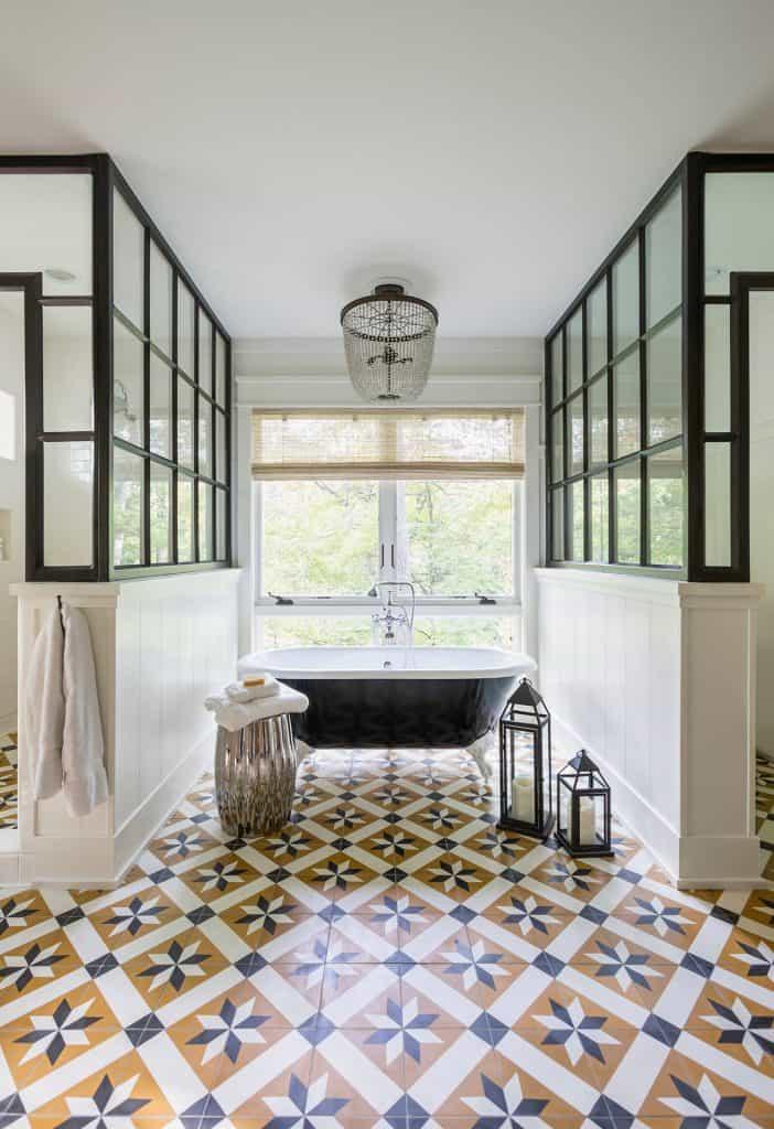 paint bathroom floor