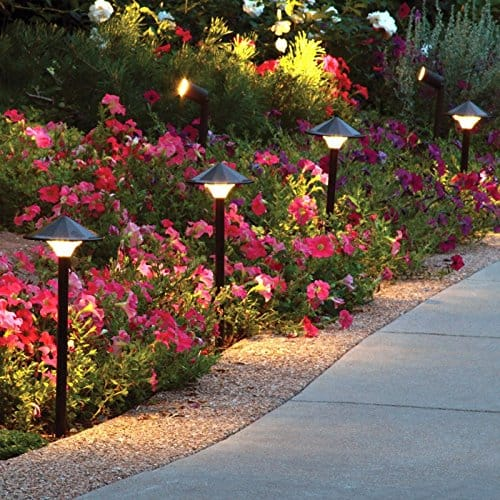 path lights - landscape lighting ideas
