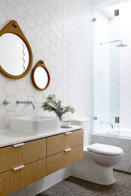 tile bathroom wall 2