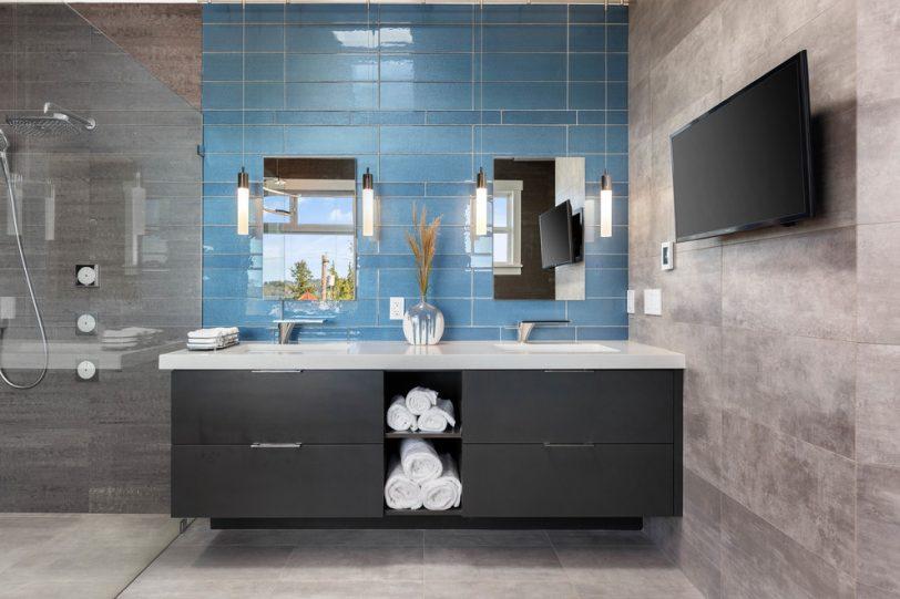 tile bathroom wall 4