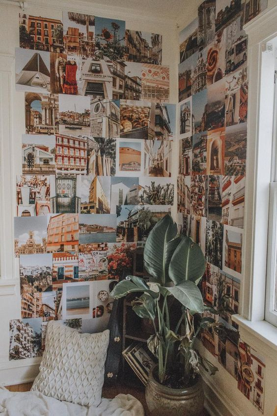 Travel Collage Kit 20+ Aesthetic Bedrooms