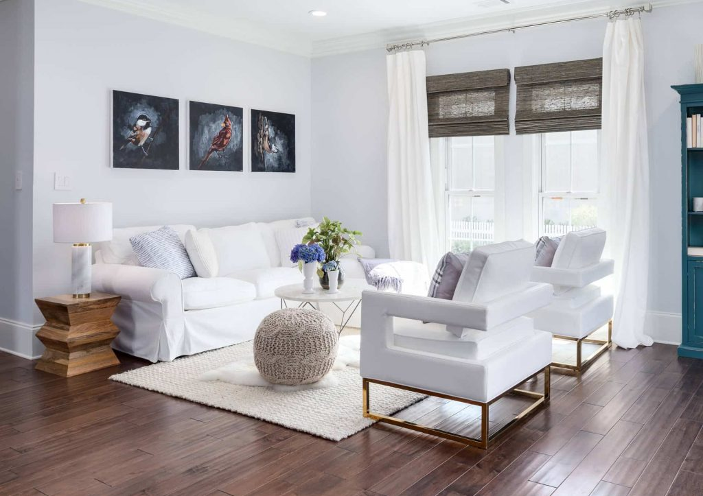 What Color Rug Should I Use For Dark, What Color Furniture With Dark Wood Floors