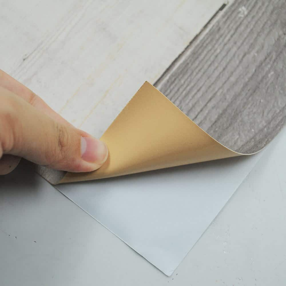yazi Vinyl Plank Flooring Peel and Stick Flooring Tiles